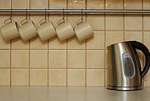 Wasserkocher in der Küche