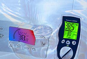 Das Angebot an Durchlauferhitzer auf dem Markt ist vielfältig. Oft ist es sinnvoll ein Gerät zu wählen, das den Stromverbrauch anzeigt und speichert.